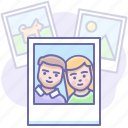 gallery, memories, photo icon