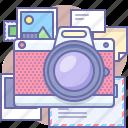 camera, photo, shot