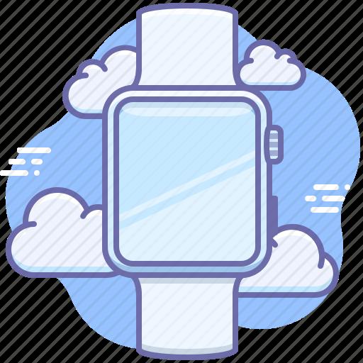apple, gadget, watch icon