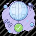 globe, internet, online icon