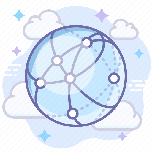 internet, network, web icon