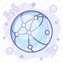 globe, network, web icon