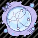 globe, network, web
