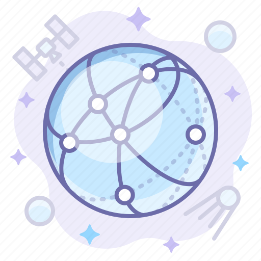 globe, network, web icon