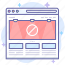 adblock, adblocker, banner icon
