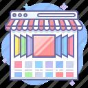 shop, online, showcase