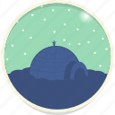 eskimo, igloo, north pole, snow icon