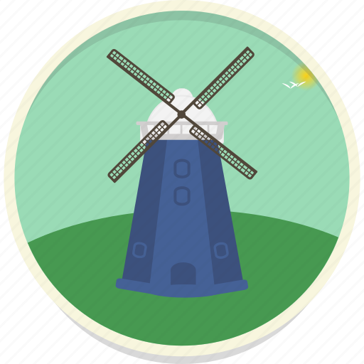alternative, energy, power, source, turbine, wind, windmill icon