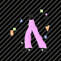 design, woman, shape, shapes, graphic
