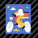 transportation, bike, bicycle, transport, woman, day