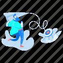 bullseye, target, paper, airplane, man