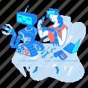 robotics, artificial, intelligence, woman, technology