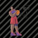 sports, basketball, sport, game, athlete, man, activity