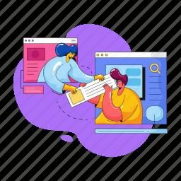 web, development, team, work, business, browser, man, woman