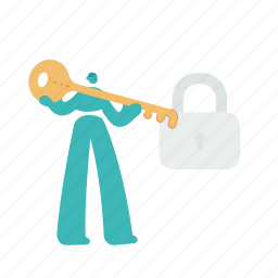 security, lock, key, protection, privacy