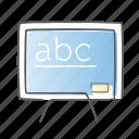 blackboard, board, presentation, whiteboard icon
