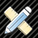 art, design, geometry, tool icon