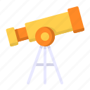astronomy, science, space, telescope icon