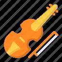 cello, music, violin, instrument