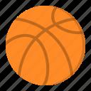 ball, basketball, game, sport
