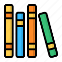 book, books, library, study icon