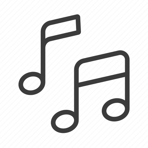 Melody, music, note, sound icon - Download on Iconfinder