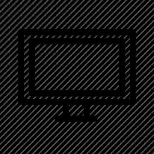 computer, education, monitor, school, student, study, tv icon