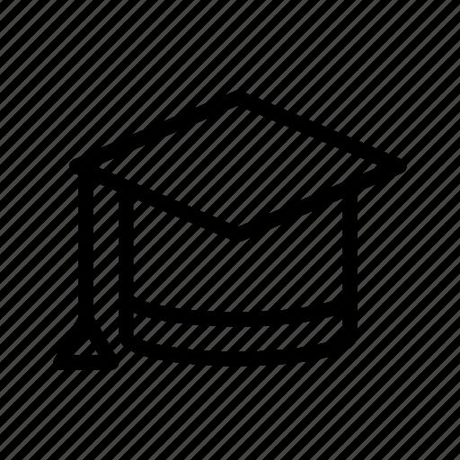 book, education, graduation, learning, pencil, school, study icon