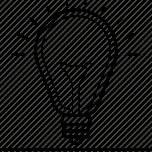 bright, electricity, genius, idea, lightbulb, solve, spark icon