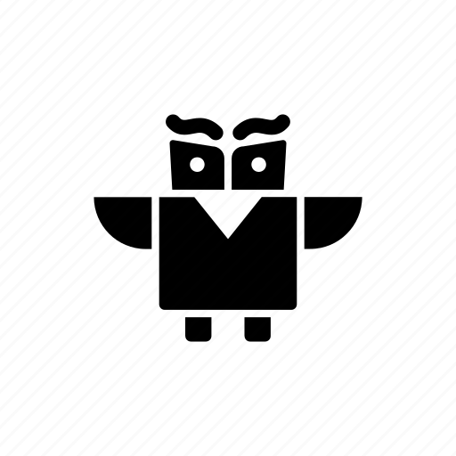 office, owl, pencil, school, stationary icon