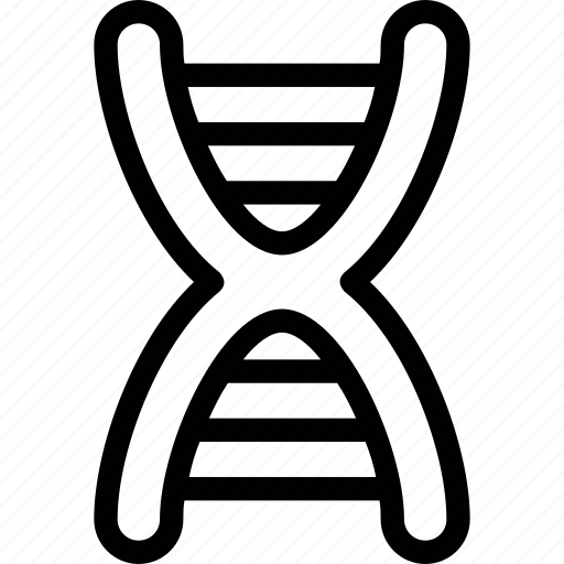 dna, dna chain, genetics, helix, science icon