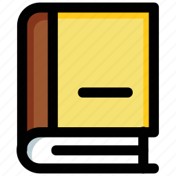 book, encyclopedia, knowledge, library, reading icon