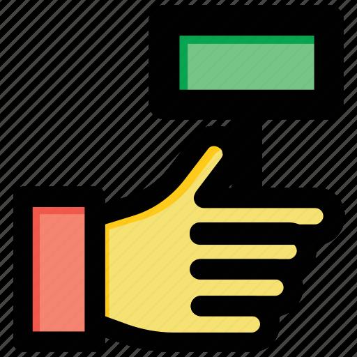 attendance, biometric, biometric attendance, thumb scanner icon