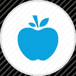 apple, fruit, staff, teacher icon
