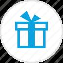 box, gift, ribbon, suprise