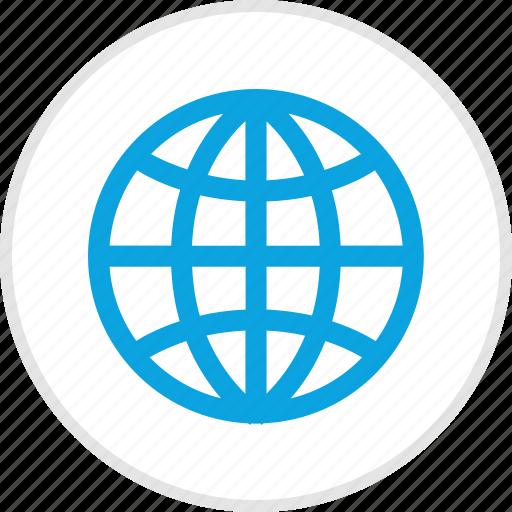 internet, map, online, world icon