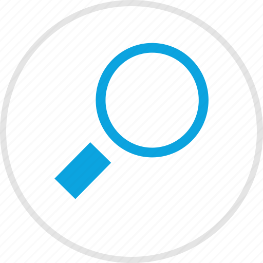 find, look, magnifier, search icon