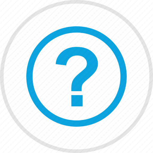 ask, mark, question, sign icon