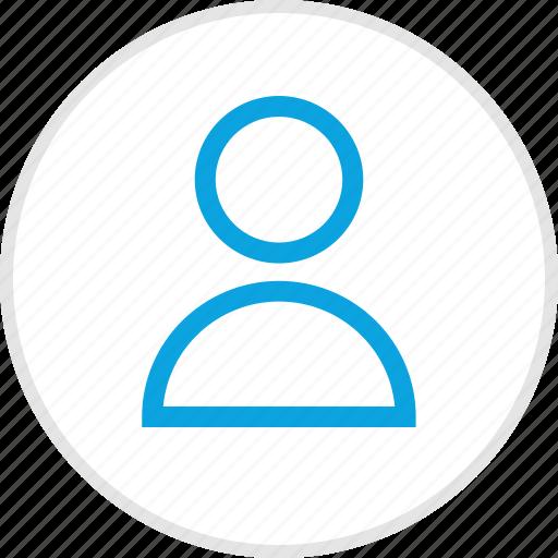 person, profile, staff, teacher, user icon