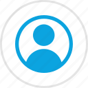 person, profile, staff, student, user icon