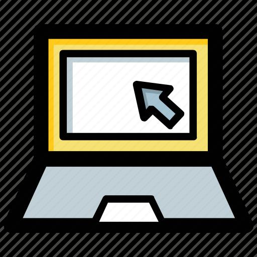 laptop, macbook, notebook pc, pc, technology icon