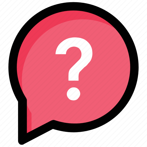 chat bubble, chat support, faq, frequently asked questions, questionnaire icon