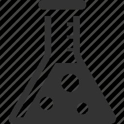 acid, chemistry, education, laboratory, liquid, science, test, test glass icon