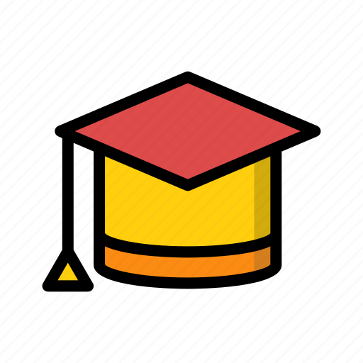 education, graduation, learning, school, student, study, university icon