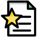 bookmark file, document, favorite file, goodreads, popular article icon