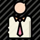 education, employee, officer, people, school, teacher, worker icon