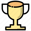 achievement, award, education, prize, school, trophy, winner icon