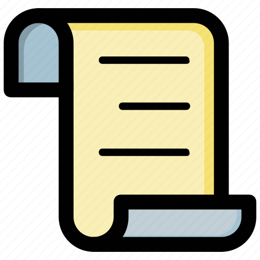 agreement, contract, document, report, text document icon