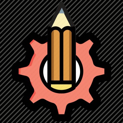 creative process, creativity, development, graphic design, illustration icon