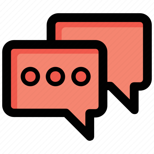 chat bubbles, chatting, communication, conversation, dialogue icon